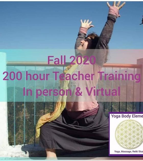 Yoga Teacher Training 200 hour Fall 2020